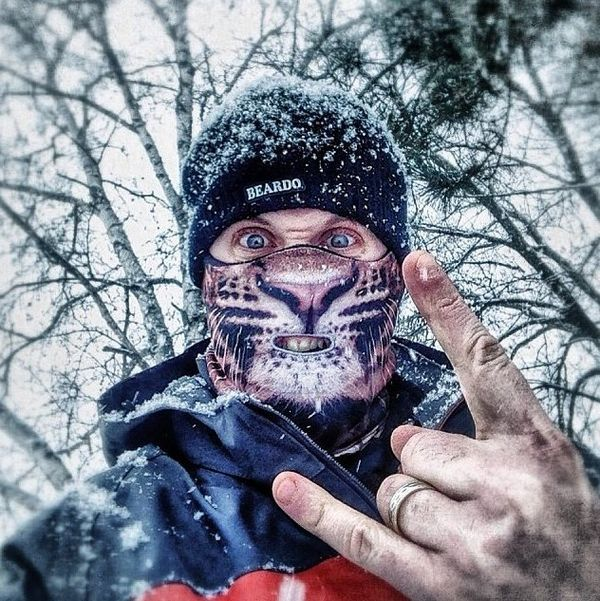 Fearsome Animal Ski Masks   Leopard Ski Mask 707306a4d768