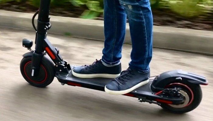 Power-Efficient Electric Scooters
