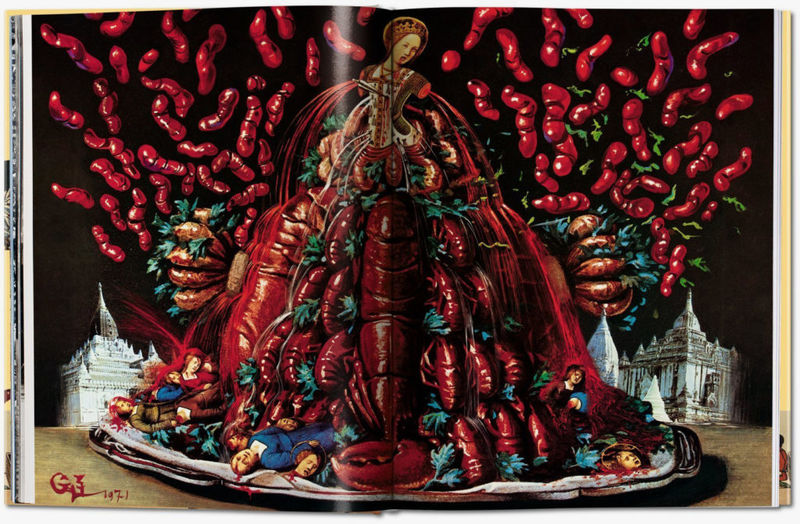 Surrealist Artist Cookbooks