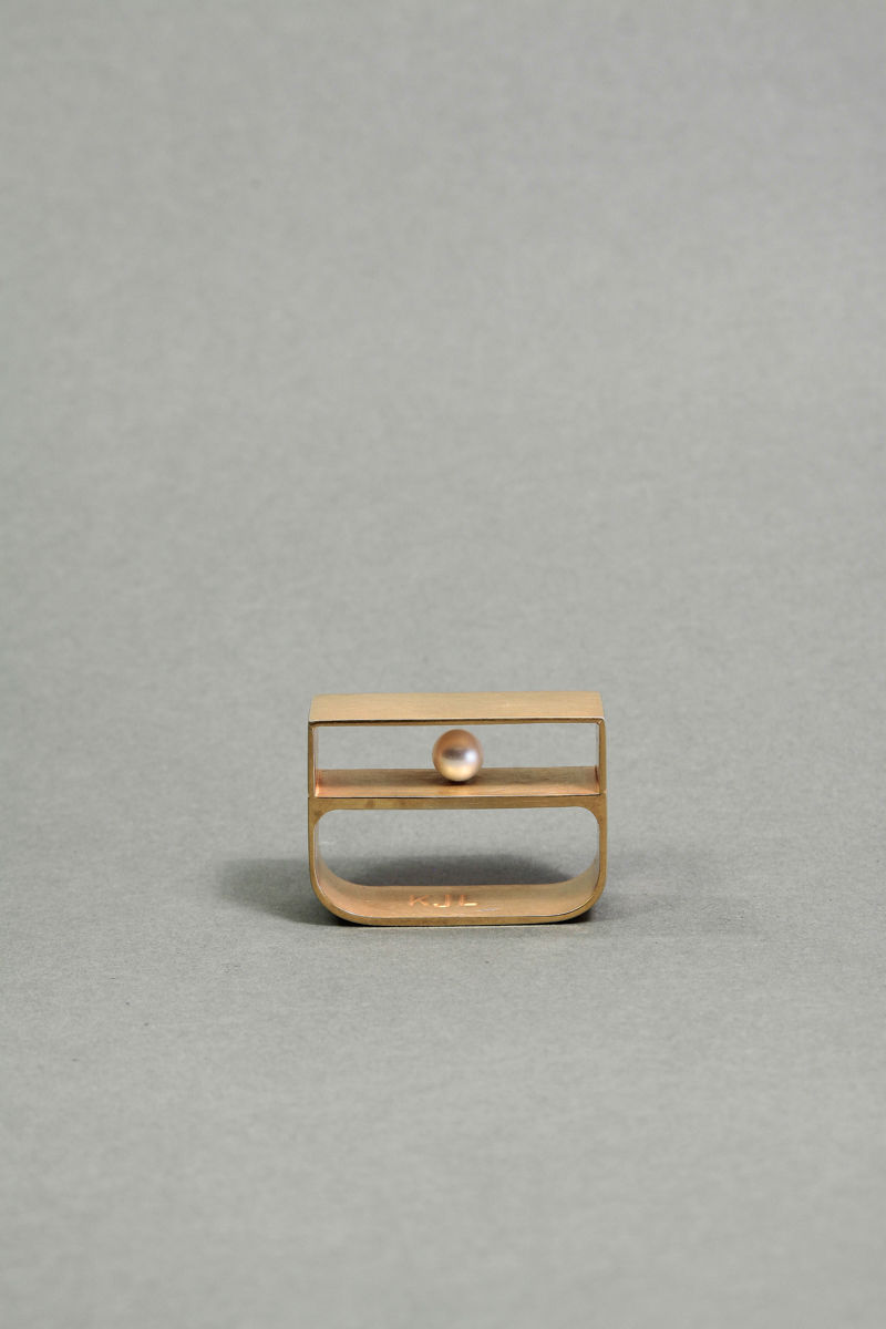 Sculptural Boxy Jewelry