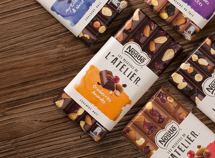 Artisan Chocolate Packaging Les Recettes D Atelier