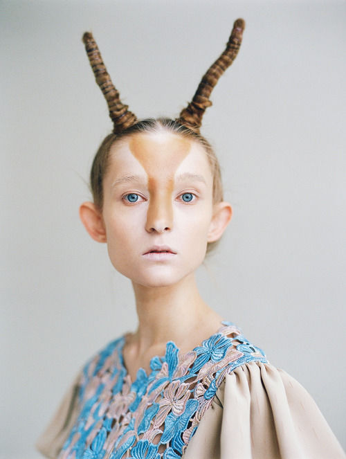 Whimsical Antelope-Like Lookbooks