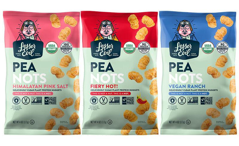 Easily Digestible Pea Snacks