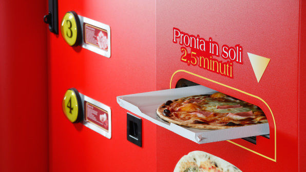 Pizza-Making Vending Machines