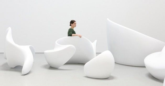 Sculptural Seating Arrangements