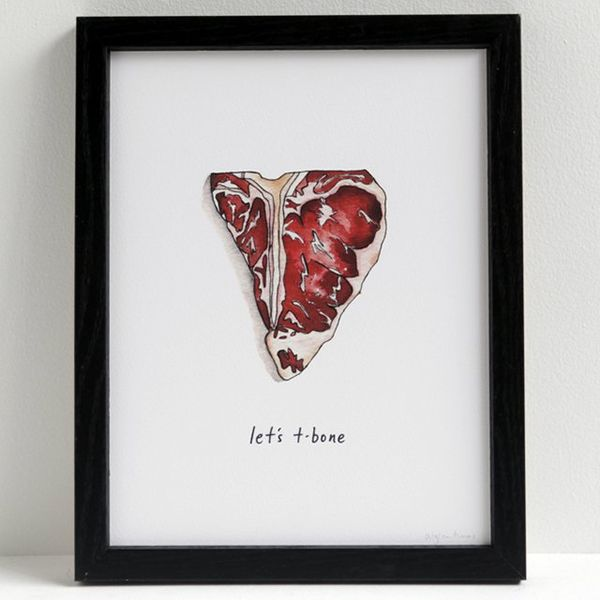 Suggestive Word Play Prints
