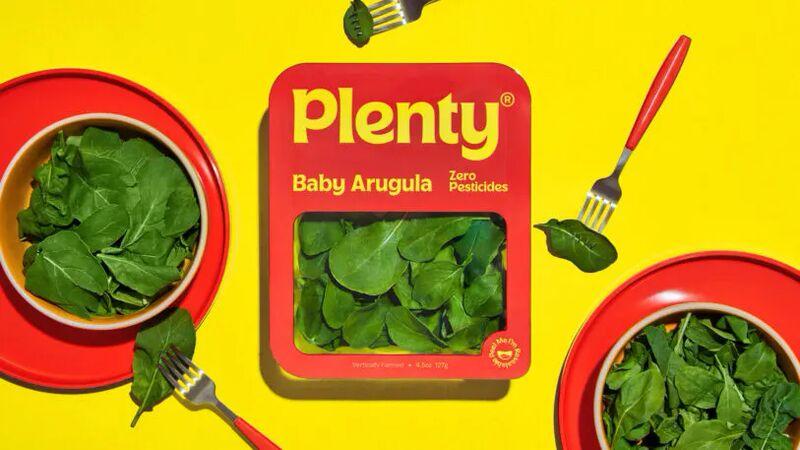 Hunger-Inspiring Lettuce Branding