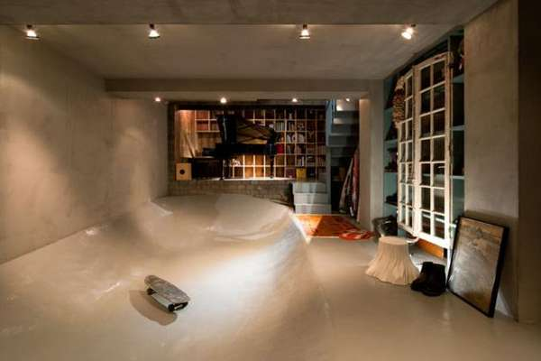 In-Home Skate Ramps