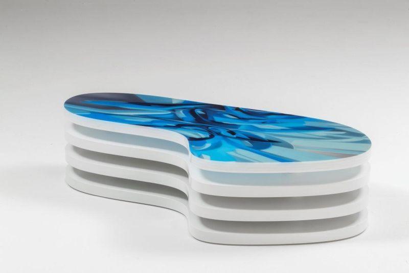 Printed Plexiglass Coffee Tables