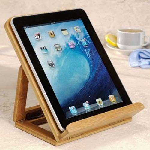 Tablet Easels : Levenger Nantucket IPad Stand