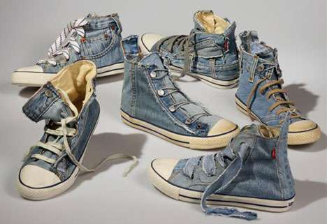 Recycled Denim Shoes