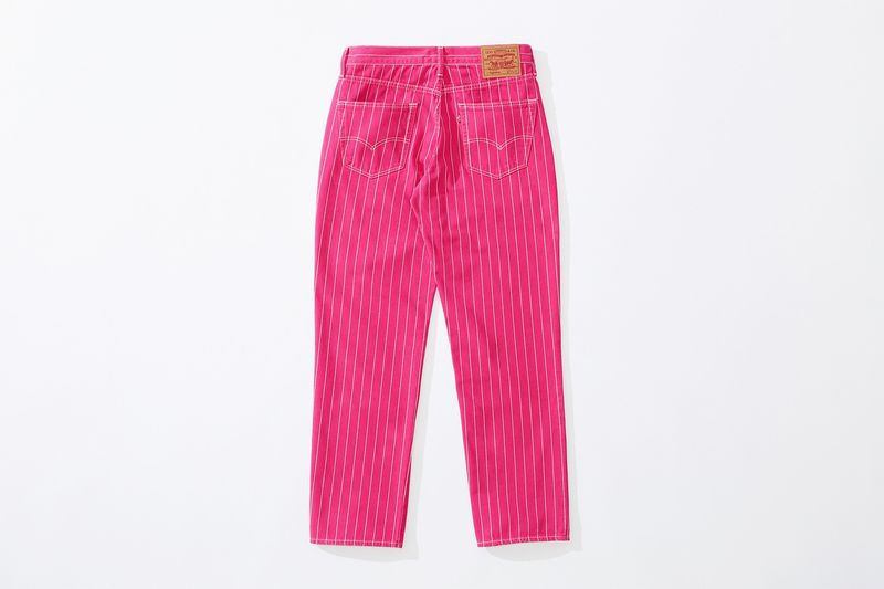 Colorful Pinstripe Denim Collections