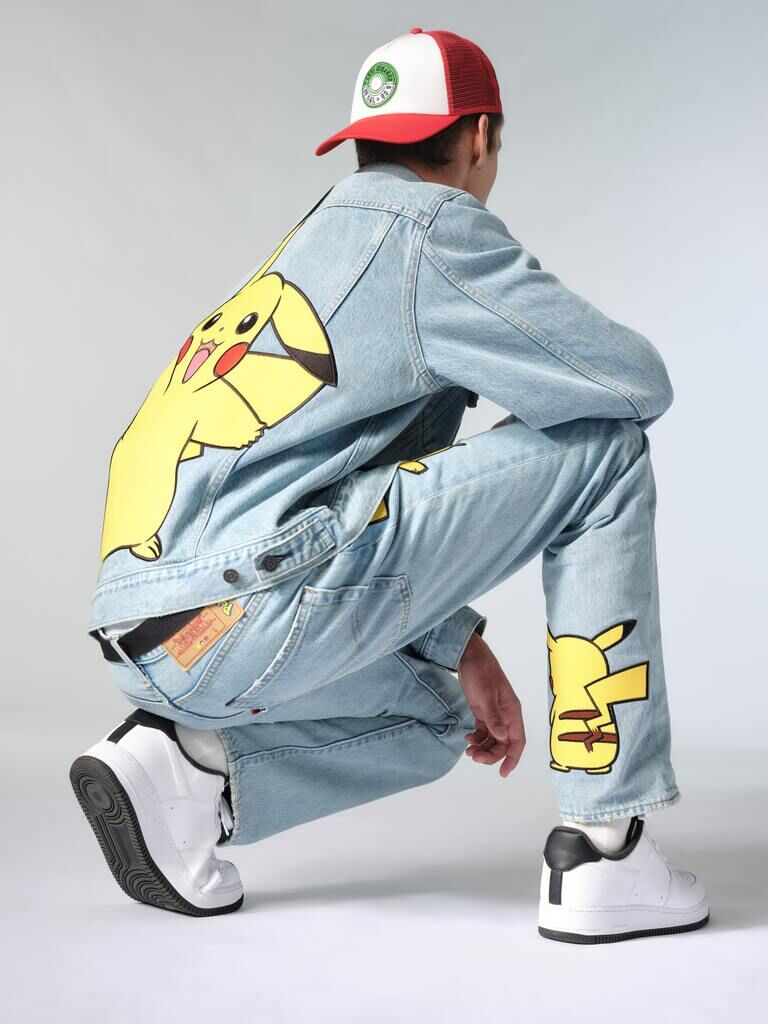Retro Anime Denim Apparel