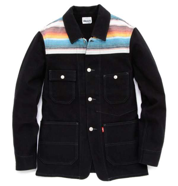 Rainbow-Hued Denimwear