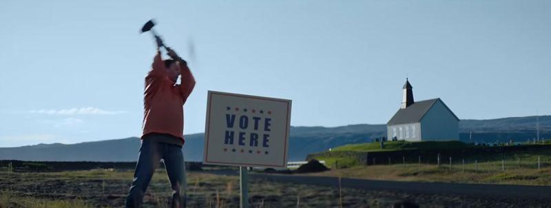 Vote-Encouraging Denim Campaigns