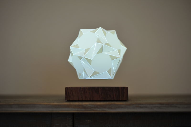 Ambient Levitating Crystal Lighting