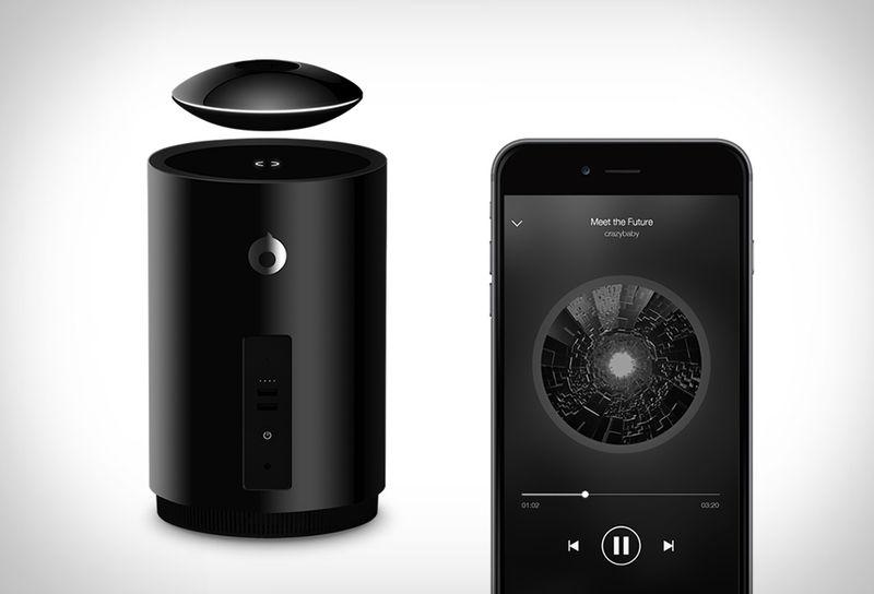 Wireless Levitating Speakers
