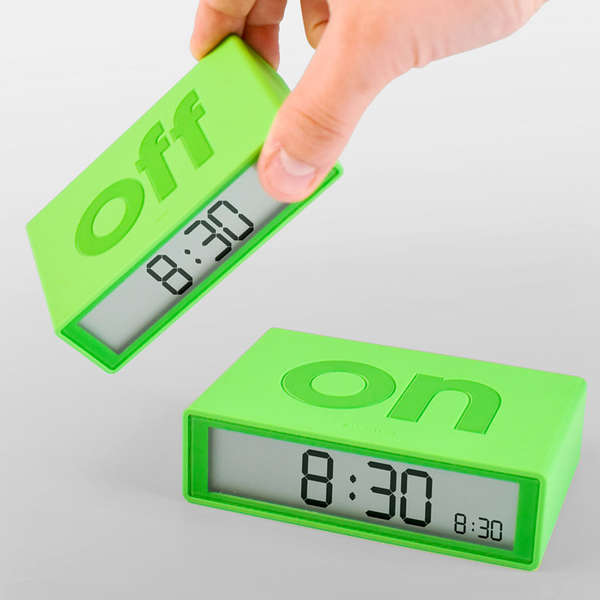 Double-Sided Alarm Clocks