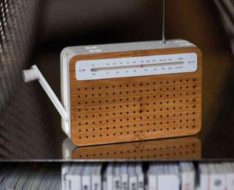 Tiny Bamboo Radios