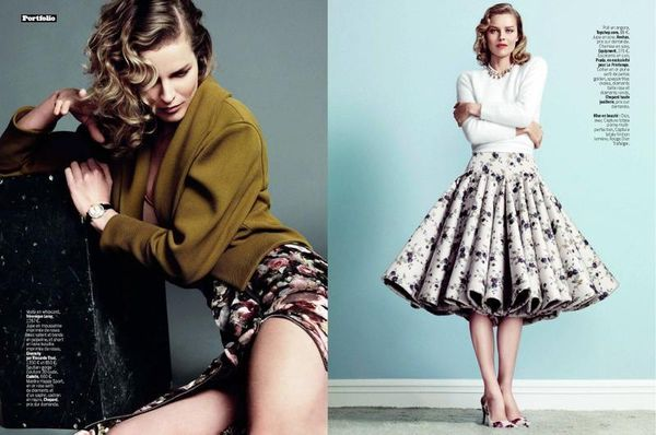 Flirty Pin-Up Editorials