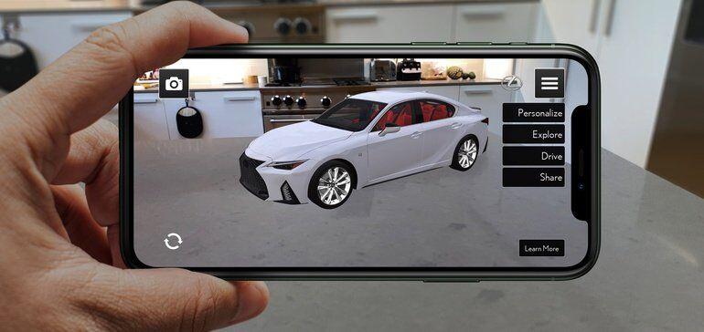 AR Car-Displaying Apps