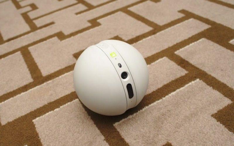 Rolling Surveillance Robots