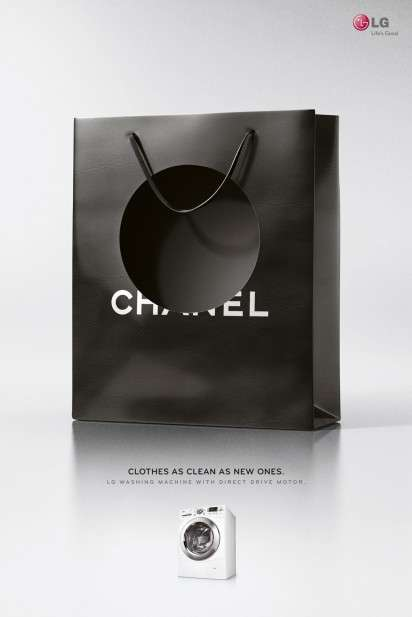 Holey Shopping Bag Ads