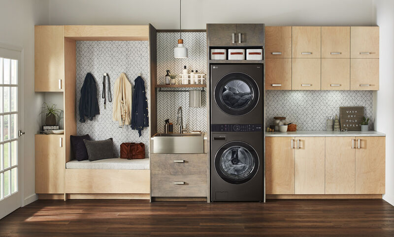 Vertical Laundry Towers