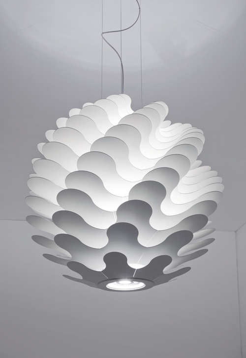 Undulating Spherical Lighting Libera Pendant Lamp