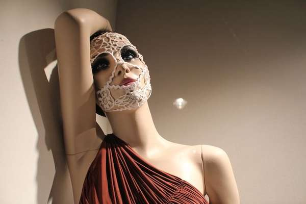 Crocheted Mannequin Masks