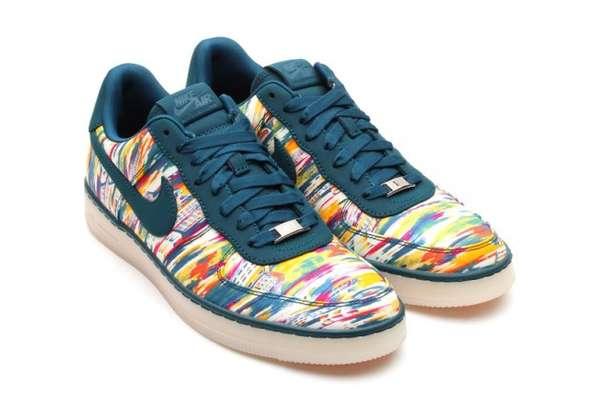 Paisley-Camo Kicks