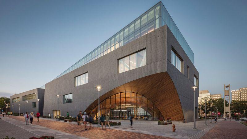 Irregular Library Building Designs