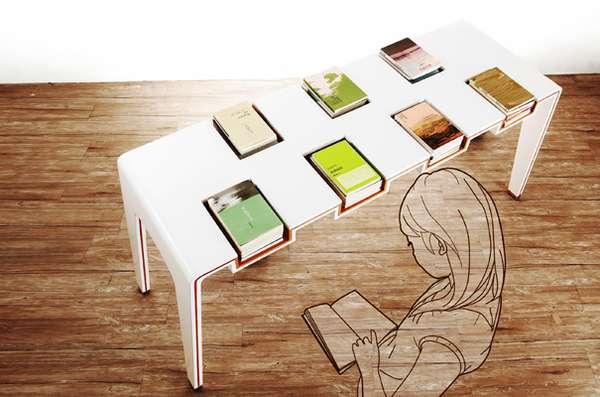 Bookshelf Tabletops