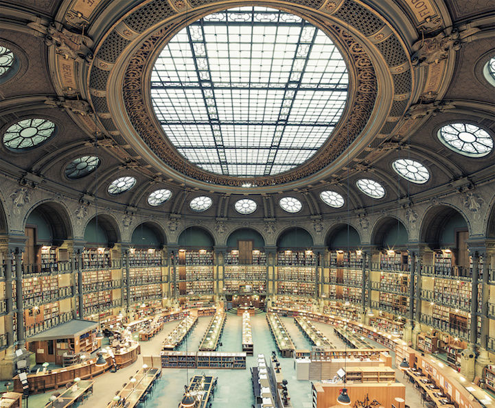 Opulent Library Photography