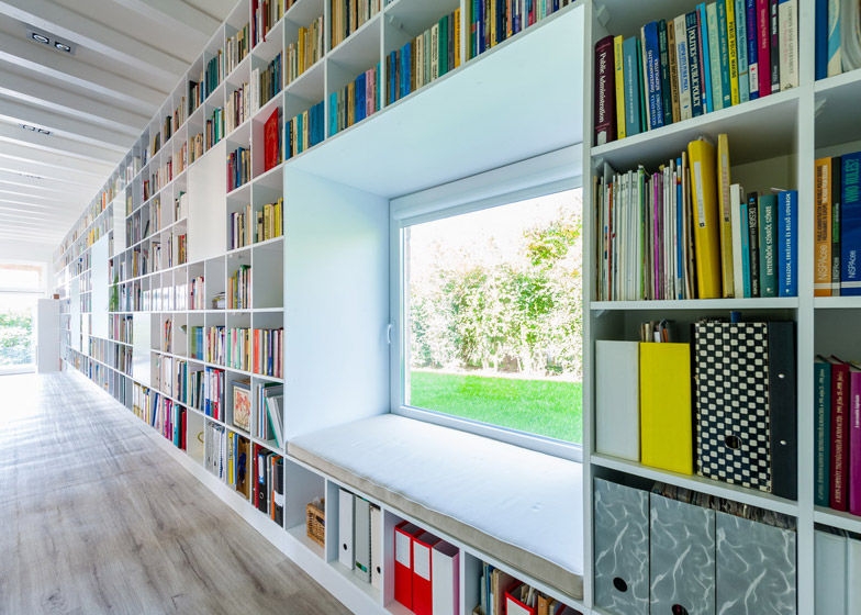 Endless Bookshelf Residences