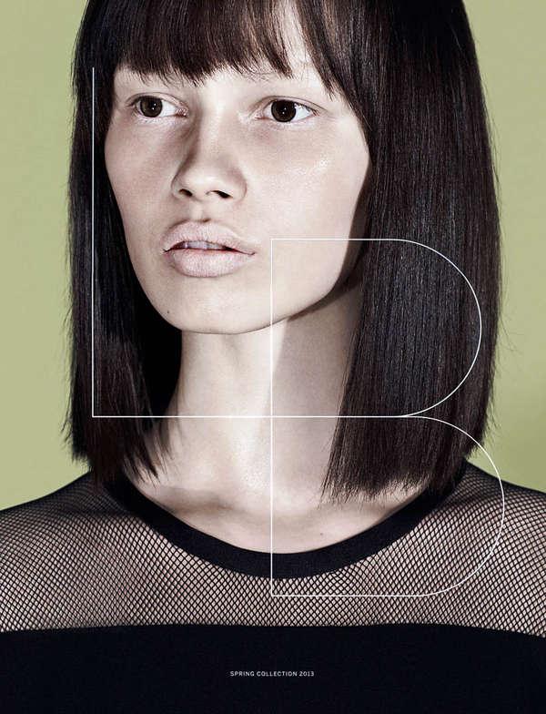Minimalist Closeup Fashion Ads