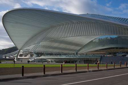 Curvy Canopied Stations