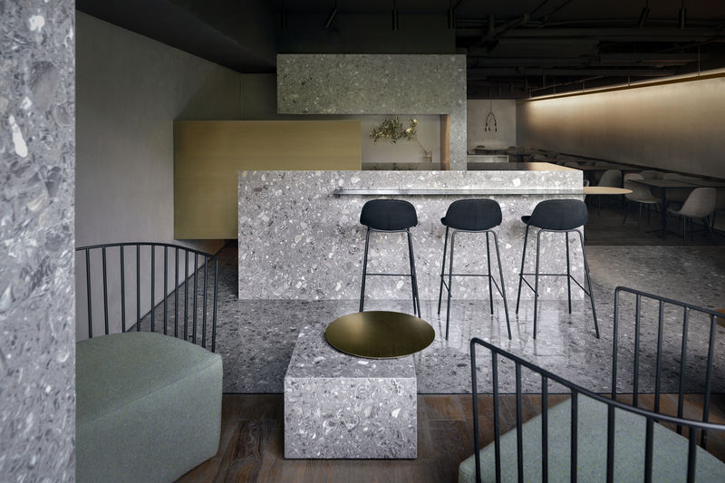 Speckled Granite Pizza Bars