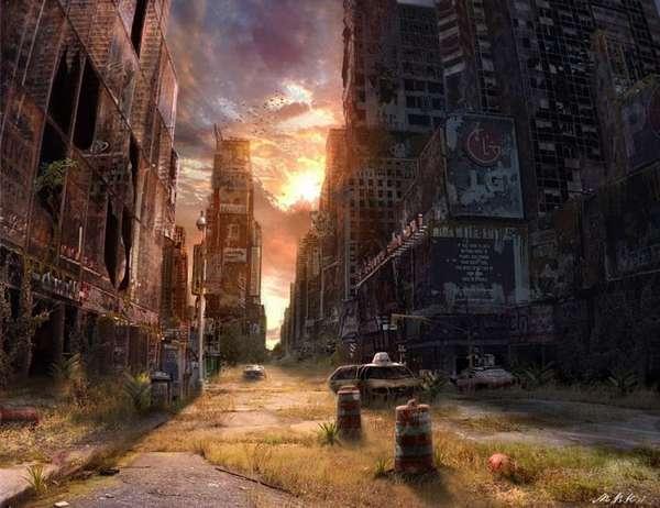 Post-Armageddon Illustrations