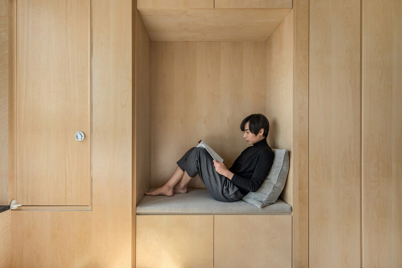 Versatile Space-Saving Micro Apartments