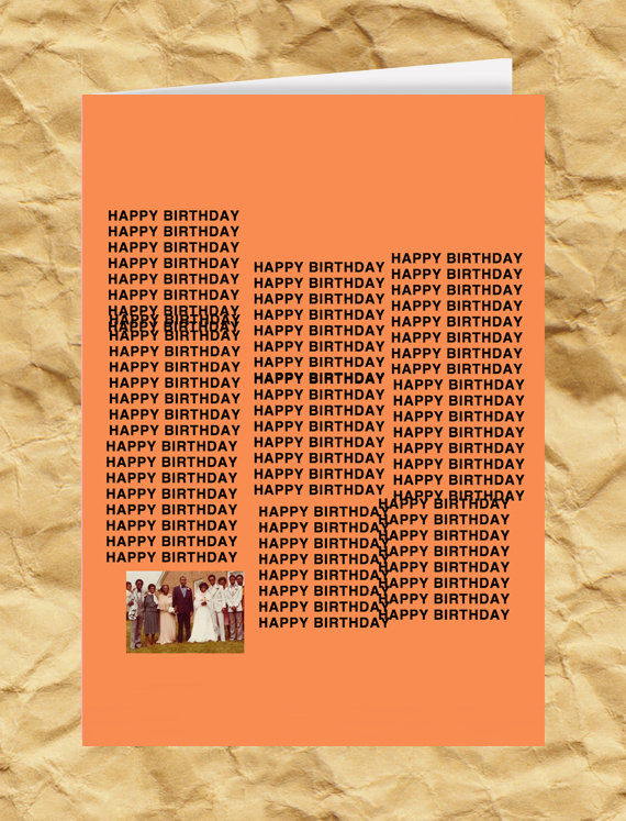 Rap Album Birthday Cards