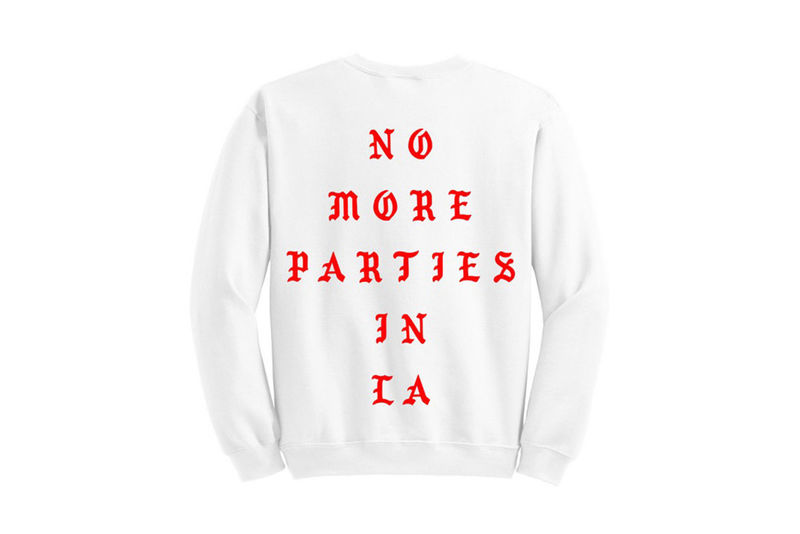 Rap Lyric Crewneck Sweaters