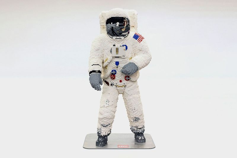 Life-Sized Astronaut Toy Statues