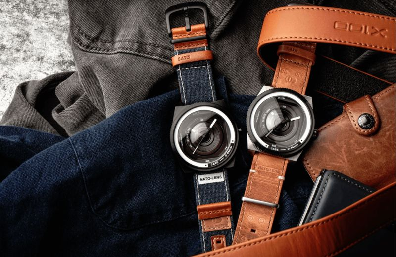 Camera-Inspired Lifestyle Watches : lifestyle watch