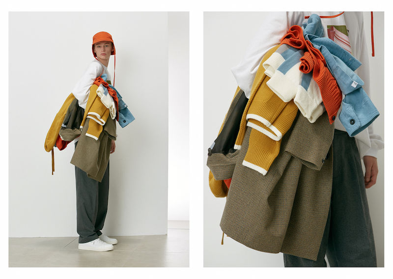 Unconventionally Layered Lookbooks