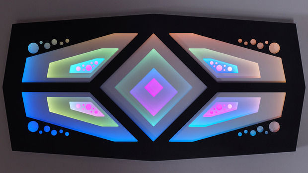 Hypnotic Light Sculptures