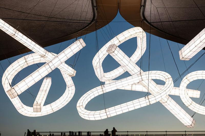 Hanging Light Installation Designs