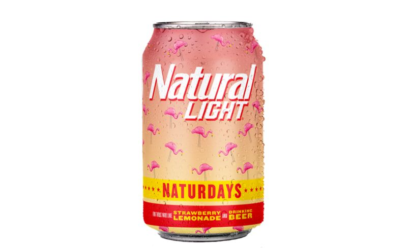 Light Strawberry-Lemonade Lagers