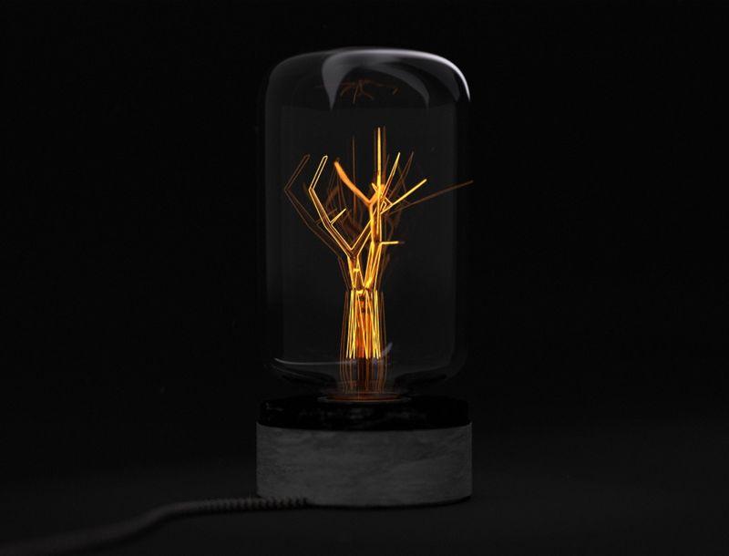 Ecological Reminder Light Bulbs : light of hope