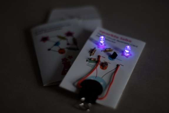 Light-Up Business Cards